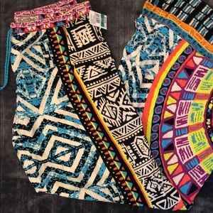 Colorful Wide Leg Pants